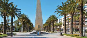 Monumento a Jaume I en Salou
