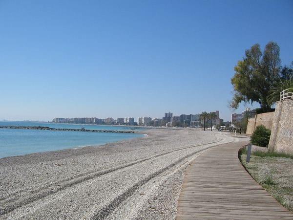 Playa els Terrers en Benicassim