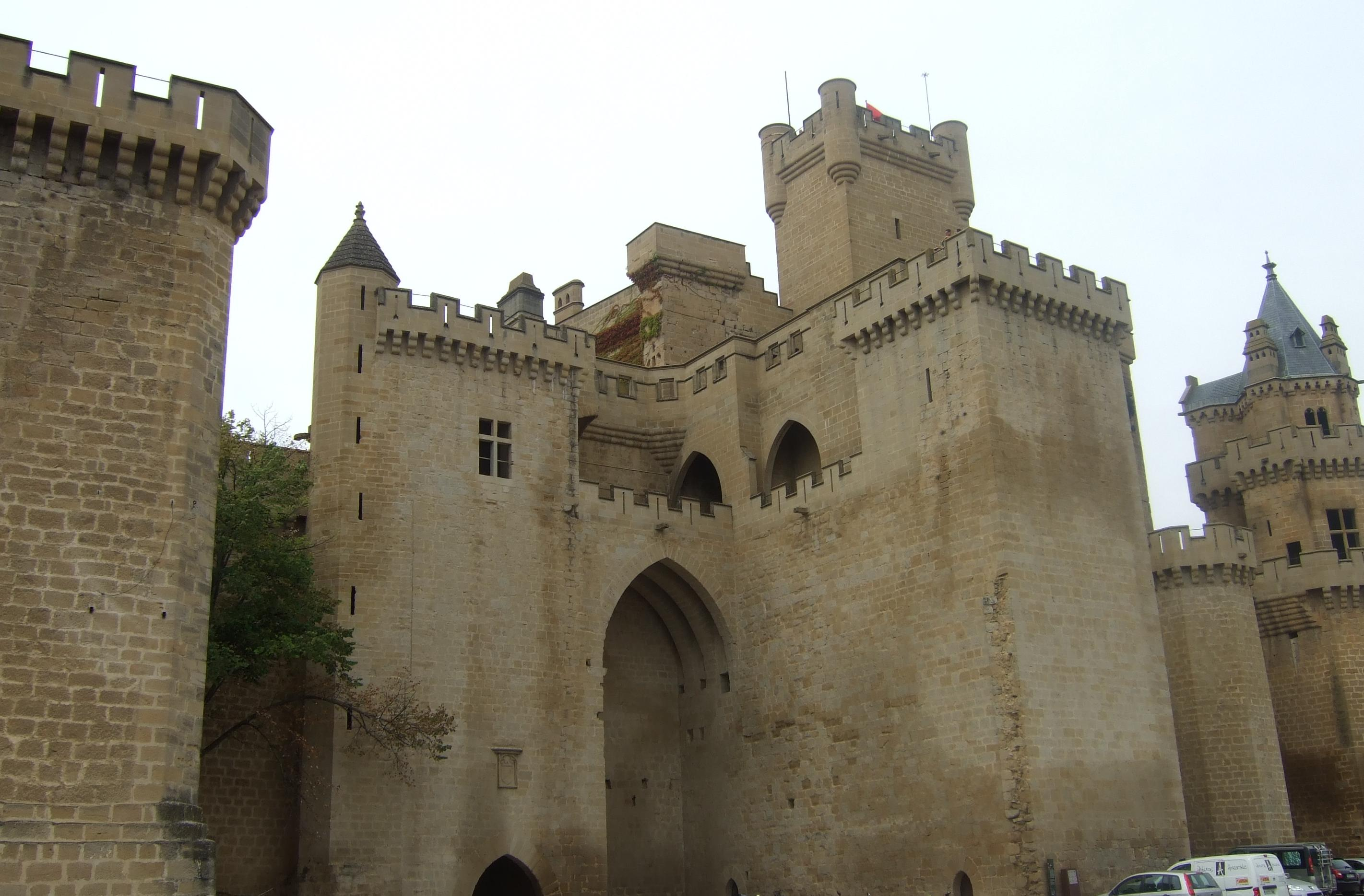 Castillo en Olite