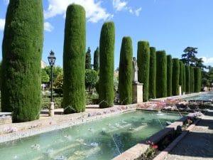 Fuente del jardin botanico de Cordoba