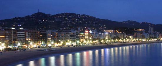 Lloret de Mar Playa y Noche