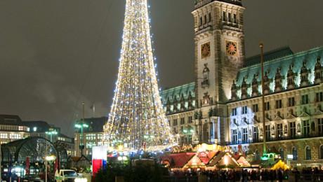 Los mercados navideños de Hamburgo