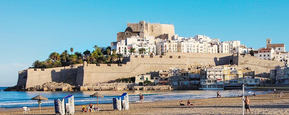 Peñiscola castillo y playa
