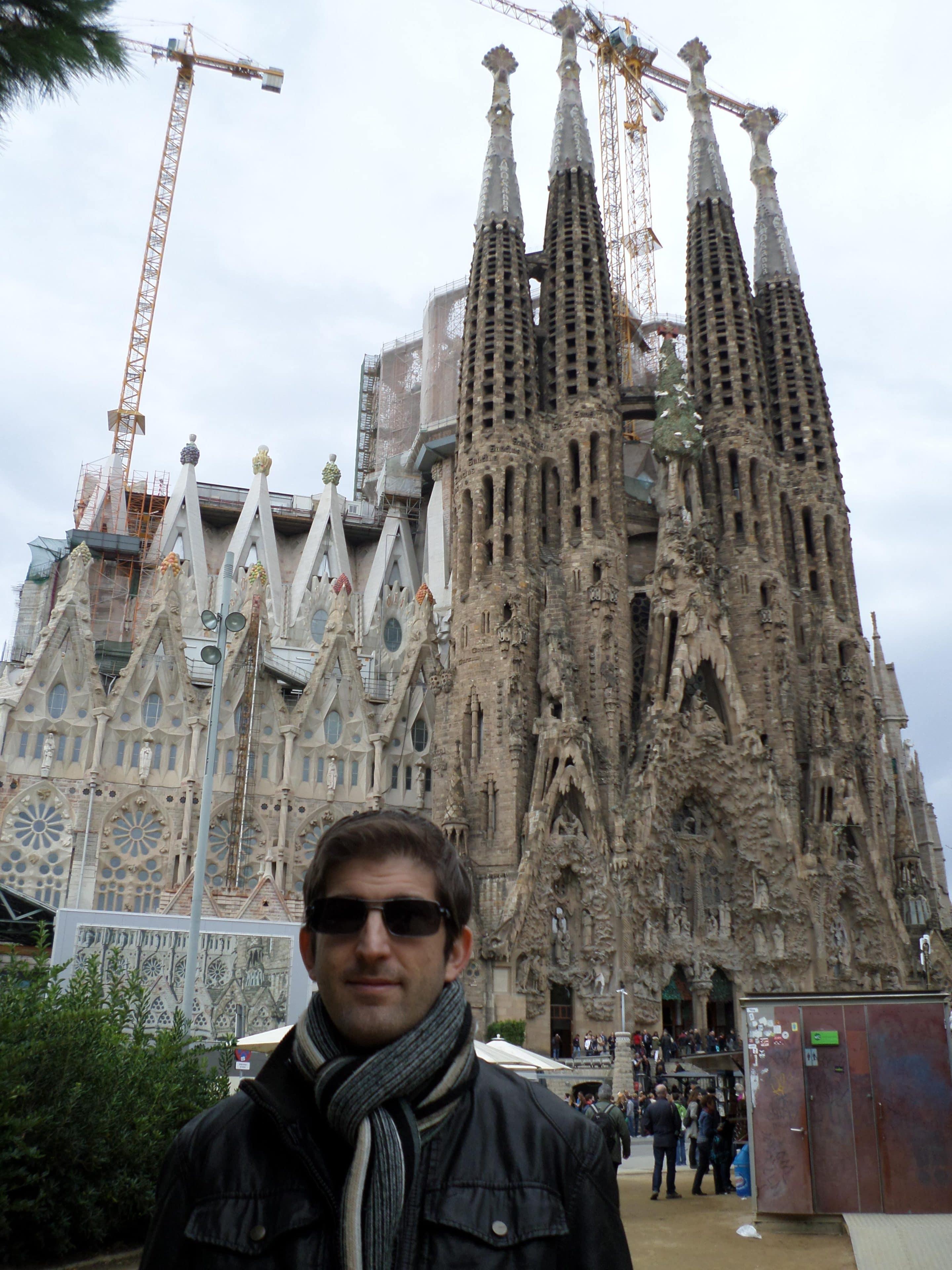 La sagrada familia de gaudi barcelona