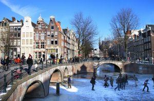 Amsterdam la ciudad en bicicletas