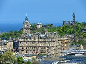 Balmoral Hotel en la New Town de Edimburgo