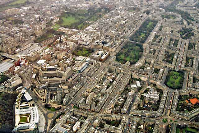 New Town de Edimburgo
