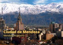 Mendoza ciudad de Argentina