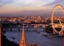 Al viajar a Londres, Historia y diversion