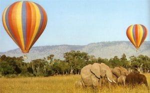 Masai-Mara-Kenya safari en globo